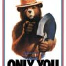 Smokey Bear Tin Sign #834