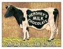 Hershey Milk Chocolate Tin Sign #875