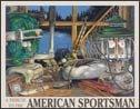 Camping Fishing Tackle Tin Sign #1213