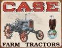 Case Farm Tractor Tin Sign #1230