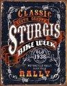 Sturgis Motorcycle Bike Tin Sign # 1396