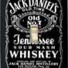 Jack Daniels Light Switch Cover #LP780