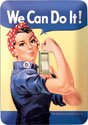 Rosie The Rivetor Light Switch Cover #LP796