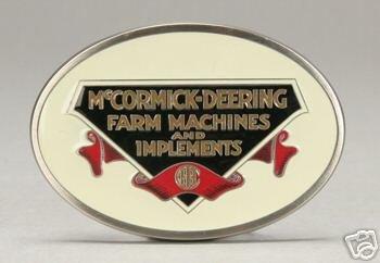McCormick Deering Belt Buckle