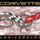 Corvette Tin Sign #1014