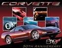Corvette Tin Sign #1015