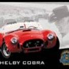 Shelby Cobra tin sign #1016