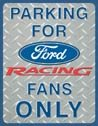 Ford Racing tin sign #1062