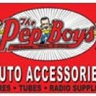 Pep Boys tin sign #1113