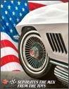 Corvette Tin Sign #1154