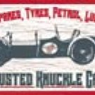 Busted Knuckle Garage tin sign #1164