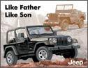 Jeep tin sign #1236