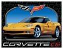 Corvette C6 tin sign #1248