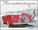 Thunderbird tin sign #1271