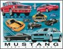 Ford Mustang tin sign #1272