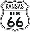 Route 66 tin sign #282