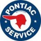 Pontiac tin sign #184