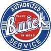 Buick tin sign #185