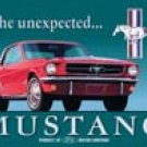 Ford Mustang tin sign #579