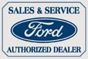 Ford tin sign #580