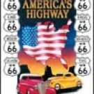 Route 66 tin sign #605