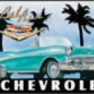 Chevrolet Bel Air tin sign #700