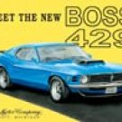 Ford Boss Mustang tin sign #703