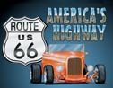Route 66 tin sign #729