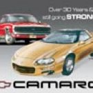 Camaro tin sign #807