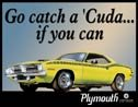 Plymouth Barracuda tin sign #846