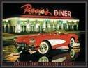 Rosie Diner tin sign #897