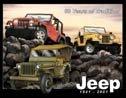 Jeep tin sign #961