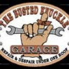 Busted Knuckle Garage tin sign #980