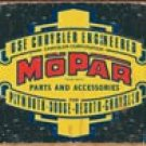 Mopar tin sign #1314
