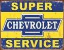 Chevrolet Service tin sign #1355