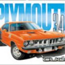 Plymouth Cuda 340 tin sign #1415