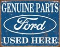 Ford Parts tin sign #1422