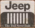 Jeep Logo tin sign #1431