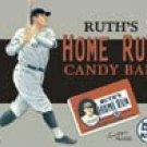 Babe Ruth tin sign #150
