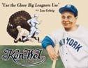 Lou Gehrig tin sign #504