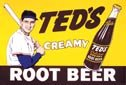 Teds Root Beer tin sign #51