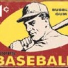 Topps Baseball tin sign #1404
