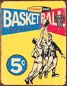 Topps Basketball tin sign #1405