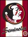 Florida Seminoles tin sign #1360