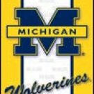 Michigan Wolverines tin sign #1363