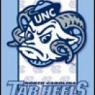 North Carolina Tar Heels tin sign #1364