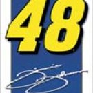 Jimmie Johnson Nascar tin sign #1352