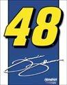 Jimmie Johnson Nascar tin sign #1352