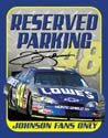 Jimmie Johnson Nascar tin sign #1374