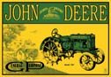 John Deere tractor  tin sign #668